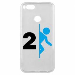 Чехол для Xiaomi Mi A1 Portal 2 logo