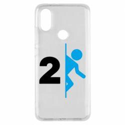 Чехол для Xiaomi Mi A2 Portal 2 logo