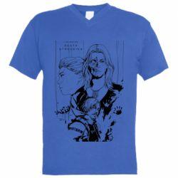 Чоловіча футболка з V-подібним вирізом Porter