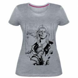 Жіноча стрейчева футболка Porter