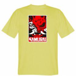Чоловіча футболка Poster samurai Cyberpunk