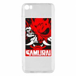 Чехол для Xiaomi Mi5/Mi5 Pro Poster samurai Cyberpunk