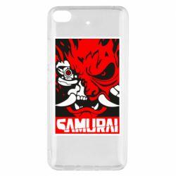 Чехол для Xiaomi Mi 5s Poster samurai Cyberpunk