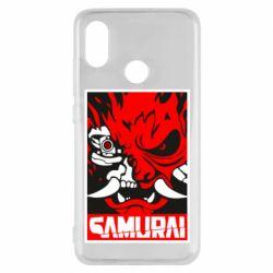 Чехол для Xiaomi Mi8 Poster samurai Cyberpunk
