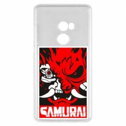 Чехол для Xiaomi Mi Mix 2 Poster samurai Cyberpunk