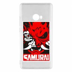 Чехол для Xiaomi Mi Note 2 Poster samurai Cyberpunk