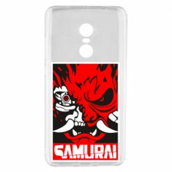 Чехол для Xiaomi Redmi Note 4 Poster samurai Cyberpunk