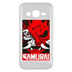 Чохол для Samsung J2 2015 Poster samurai Cyberpunk
