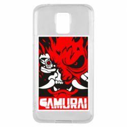 Чохол для Samsung S5 Poster samurai Cyberpunk