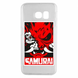Чохол для Samsung S6 EDGE Poster samurai Cyberpunk