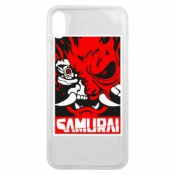 Чохол для iPhone Xs Max Poster samurai Cyberpunk