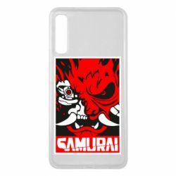 Чохол для Samsung A7 2018 Poster samurai Cyberpunk