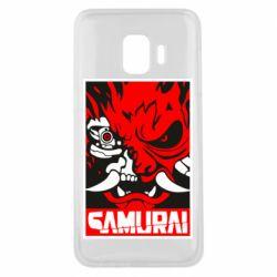 Чохол для Samsung J2 Core Poster samurai Cyberpunk