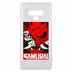 Чохол для Samsung Note 9 Poster samurai Cyberpunk