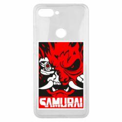Чехол для Xiaomi Mi8 Lite Poster samurai Cyberpunk