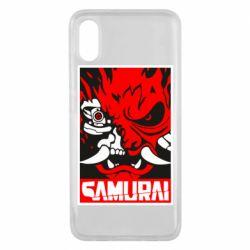 Чехол для Xiaomi Mi8 Pro Poster samurai Cyberpunk
