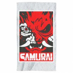 Рушник Poster samurai Cyberpunk