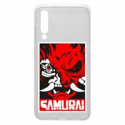 Чехол для Xiaomi Mi9 Poster samurai Cyberpunk