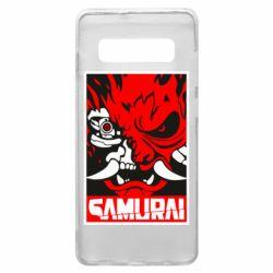 Чохол для Samsung S10+ Poster samurai Cyberpunk