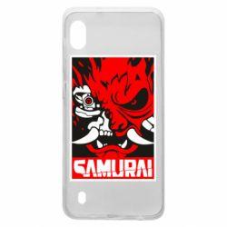 Чохол для Samsung A10 Poster samurai Cyberpunk