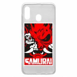 Чохол для Samsung A30 Poster samurai Cyberpunk