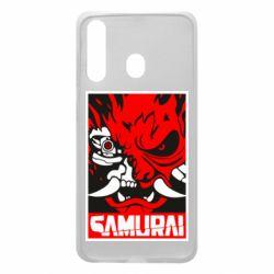 Чохол для Samsung A60 Poster samurai Cyberpunk