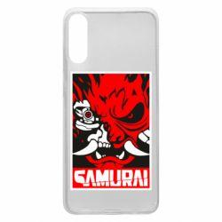 Чохол для Samsung A70 Poster samurai Cyberpunk