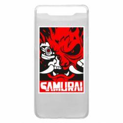 Чохол для Samsung A80 Poster samurai Cyberpunk