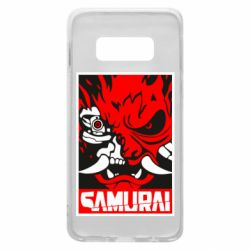 Чохол для Samsung S10e Poster samurai Cyberpunk