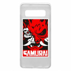 Чохол для Samsung S10 Poster samurai Cyberpunk