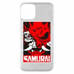Чохол для iPhone 11 Poster samurai Cyberpunk