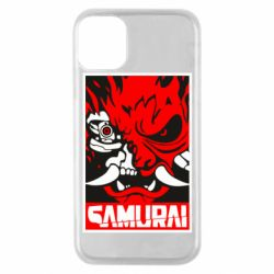 Чохол для iPhone 11 Pro Poster samurai Cyberpunk
