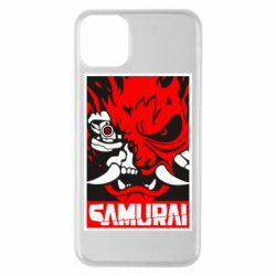 Чохол для iPhone 11 Pro Max Poster samurai Cyberpunk