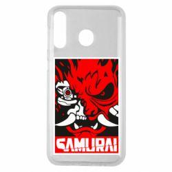 Чохол для Samsung M30 Poster samurai Cyberpunk
