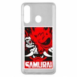 Чохол для Samsung M40 Poster samurai Cyberpunk