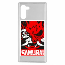 Чохол для Samsung Note 10 Poster samurai Cyberpunk