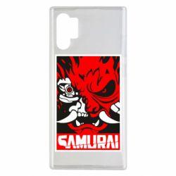 Чохол для Samsung Note 10 Plus Poster samurai Cyberpunk