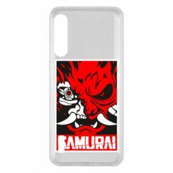 Чохол для Xiaomi Mi A3 Poster samurai Cyberpunk