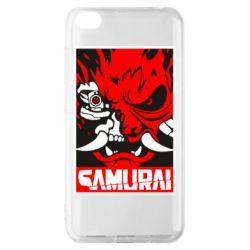 Чехол для Xiaomi Redmi Go Poster samurai Cyberpunk