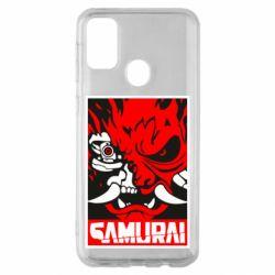 Чохол для Samsung M30s Poster samurai Cyberpunk