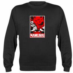 Реглан (світшот) Poster samurai Cyberpunk