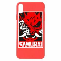 Чохол для iPhone X/Xs Poster samurai Cyberpunk
