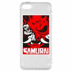 Чохол для iphone 5/5S/SE Poster samurai Cyberpunk