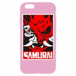 Чохол для iPhone 6/6S Poster samurai Cyberpunk