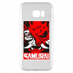 Чохол для Samsung S7 EDGE Poster samurai Cyberpunk