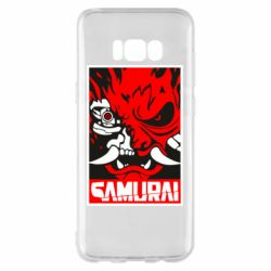Чохол для Samsung S8+ Poster samurai Cyberpunk