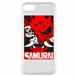 Чохол для iPhone 8 Poster samurai Cyberpunk