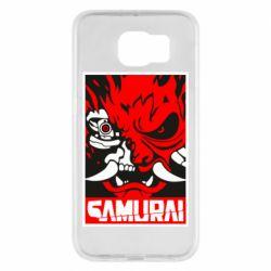 Чохол для Samsung S6 Poster samurai Cyberpunk