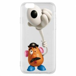 Чохол для iPhone 6/6S Potatoes in the hat
