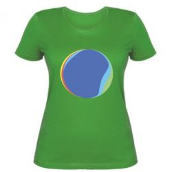 Женская футболка Потепление